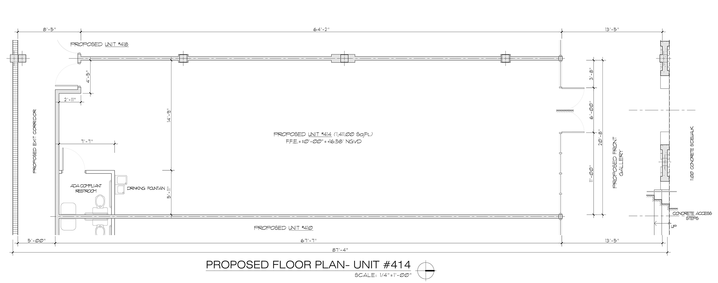 Unit 410-Floor Plan